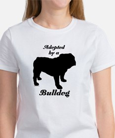 ADOPTED by a Bulldog Tee