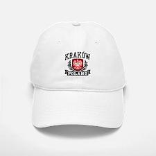 Krakow Poland Baseball Baseball Cap