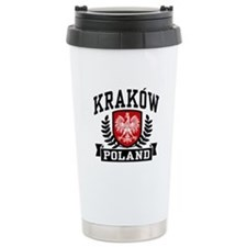 Krakow Poland Travel Mug