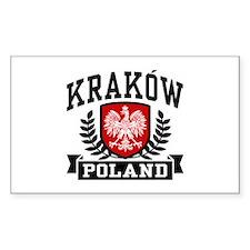 Krakow Poland Decal