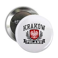 """Krakow Poland 2.25"""" Button"""