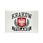 Krakow Poland Rectangle Magnet