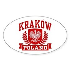 Krakow Poland Decal