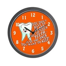 Funny Dentists Office Wall Clock