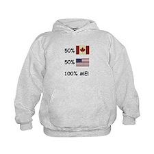 Cool Canadian usa Hoodie