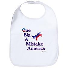 One Big A++ Mistake Bib