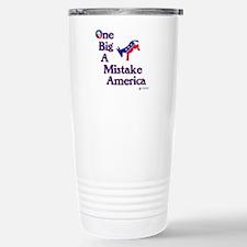 One Big A++ Mistake Travel Mug
