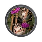 2 Gliders in Tree Wall Clock