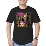 2 Gliders in Tree Men's Fitted T-Shirt (dark)