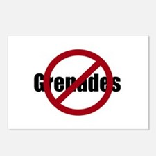 No Grenades Postcards (Package of 8)