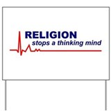 Atheism Yard Signs
