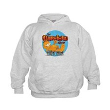 Garfield Show Logo Hoodie