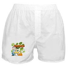 Garfield & Cie Logo Boxer Shorts
