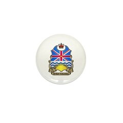B.C. Shield Mini Button (10 pack)