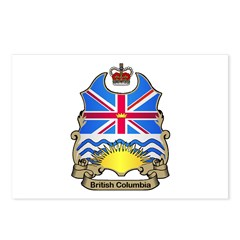 B.C. Shield Postcards (Package of 8)
