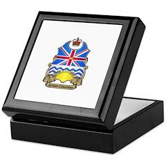 B.C. Shield Keepsake Box