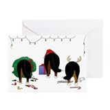 Bernese mountain dog Greeting Cards (10 Pack)