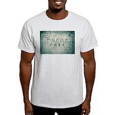 Molon Labe Hockey T-Shirt