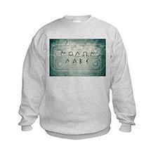 Molon Labe Hockey Sweatshirt