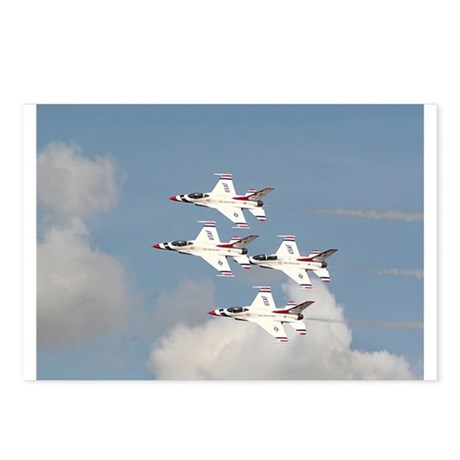 USAF Thunderbirds Postcards (Package of 8)