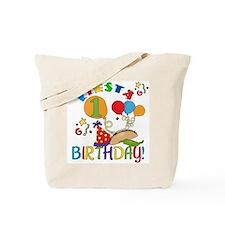 Fiesta 1st Birthday Tote Bag
