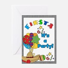 Fiesta Birthday Party Greeting Card
