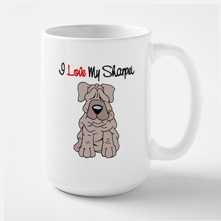 I Love My Sharpei Mug