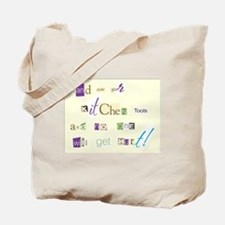 Ransom Note Tote Bag