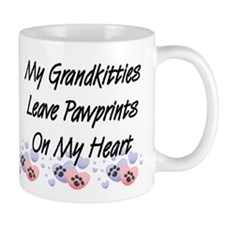 Grandkitties Pawprints Coffee Mug