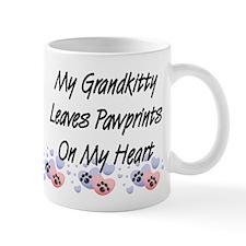 Grandkitty Pawprints Coffee Small Mug
