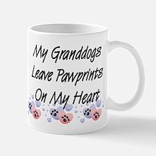 Granddogs Pawprints Coffee Mug