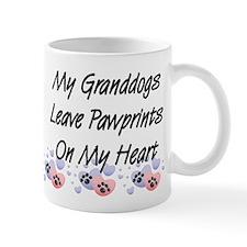 Granddogs Pawprints Coffee Small Mug