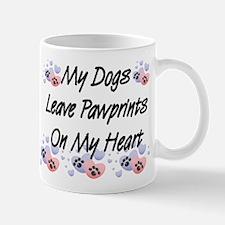 Dogs Pawprints Coffee Mug
