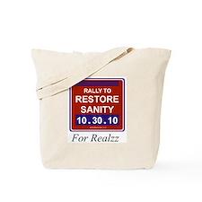 Funny Sanity Tote Bag