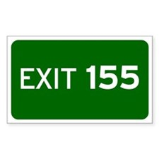 EXIT 155 Decal