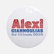Alexi for Illinois 2010 Ornament (Round)
