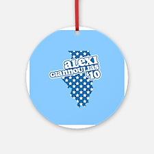 Alexi Giannoulias '10 Ornament (Round)
