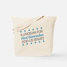 Illinoisan for Giannoulias Tote Bag
