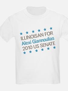 Illinoisan for Giannoulias T-Shirt