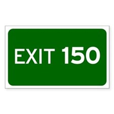 EXIT 150 Decal