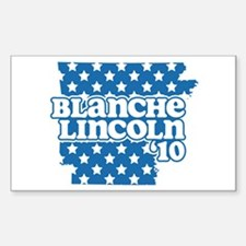 Blanche Lincoln '10 Decal