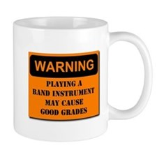 WARNING: Band may cause good Mug