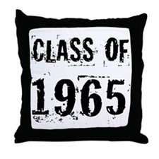 Class of 1965 Throw Pillow