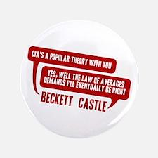 "Castle CIA/Law Of Averages 3.5"" Button"