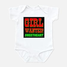 Girl Wanted Sweetheart Infant Creeper