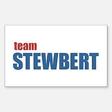 Team Stewbert v2 Sticker (Rectangle)