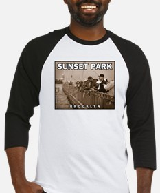 Sunset Park Fishing Baseball Jersey