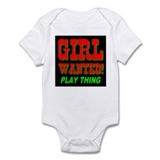 Girl Wanted Play Thing Infant Creeper