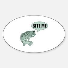 Bite Me Bass Decal