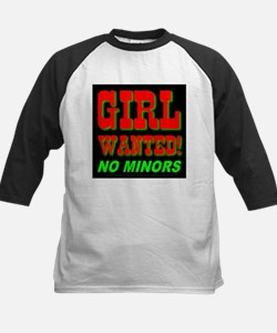 Girl Wanted No Minors Tee